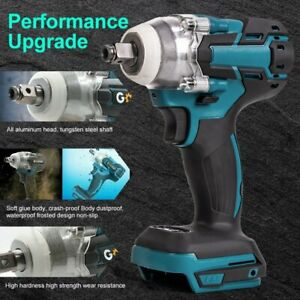 Electric Impact Wrench Gun 1 2 Driver 520nm 18v Torque Impact Wrench Cordless