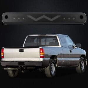 Led 3rd Brake Light Cargo Lamp Black For 1988 1998 Chevy Silverado Gmc Sierra