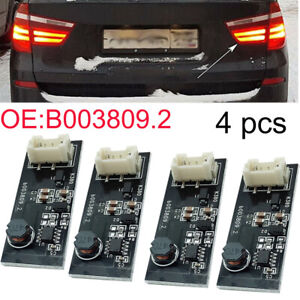 4pcs For Bmw X3 F25 Tail rear Light Led Driver Chip Board B003809 2 Replacement