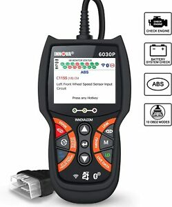 Innova 6030p Code Reader Abs check Engine Light Obd2 Scanner Live Data
