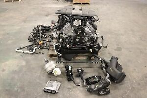 2019 Ford Mustang Gt 5 0 Coyote Gen 3 Oem Engine W 10r80 Auto Trans 6 795 Miles