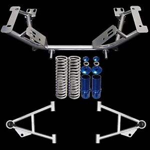 79 93 Ford Mustang Upr Mild Steel Tubular K Member Suspension Kit