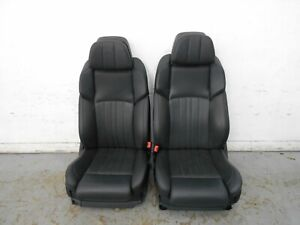 2016 12 13 14 15 Bmw M5 F10 Black Leather Heated Cooled Front Seats 3147