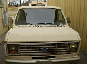 1989 Ford E350 Van W Sewer Inspection Camera System Generator Surveillance