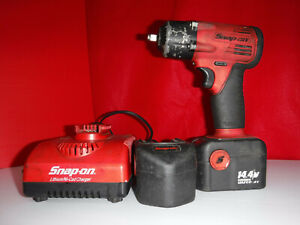 Snap On Ct4410 3 8 Cordless Impact W 2 Batteries Charger Tested Works Great