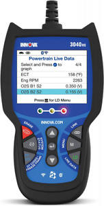 Innova 3040rs Obd2 Scanner Car Code Reader With Abs Battery Testing And