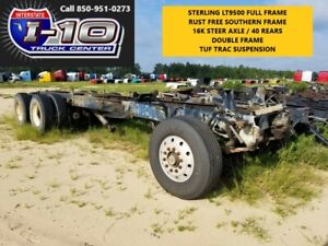 2001 Sterling Dump Truck Frame And Suspension Tag 11033 Body Bed