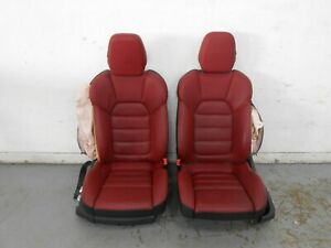 2015 16 17 18 Porsche Cayenne Turbo Heat Cool Power Leather Front Seats 0886