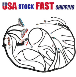 1997 2006 Dbc Ls1 Stand Alone Harness W 4l60e 4 8 5 3 6 0 Vortec Drive By Cable