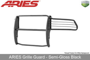 Aries Black Semi gloss Grille brush Guard Front For 2010 18 Dodge Ram 2500 3500