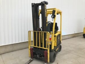 2016 Hyster Yale Electric Warehouse Forklift Rent Ready Super Clean With Battery