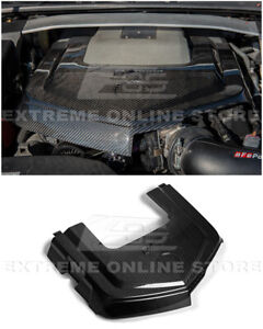 Eos For 09 15 Cadillac Cts V Gm Factory Carbon Fiber Front Bumper Engine Cover