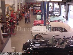 Durobeam Steel 50x100 Metal Building Garage Automotive Shop Made To Order Direct