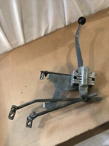 Drag fast Custom h Competition 3 Speed Floor Shifter With Chrome Handle Knob