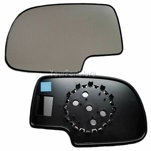 99 06 Chevy Silverado Pu Truck Non heated Door Mirror Glass Driver Side Left