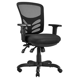Amazoncommercial Ergonomic Mid back Mesh Desk computer Chair With Adjustable And