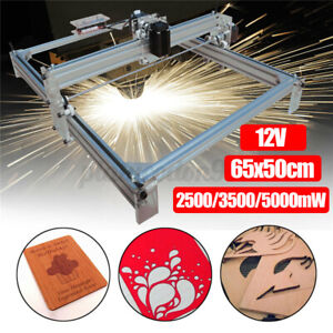 2500mw Cnc Diy Desktop Laser Engraving Machine Logo Marking Printer Engraver Us