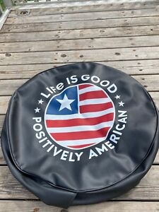 Jeep Wrangler 66 21 Life Is Good Positively American Coin Spare Tire Cover 32