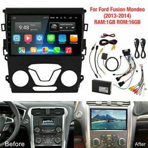 9 Android 10 1 Car Radio Stereo Player Gps Wifi For Ford Fusion Mondeo 2013 2014
