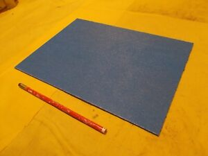 Abs Blue Plastic Sheet 1 8 X 8 5 8 X 12 Textured Vacuum Thermoforming