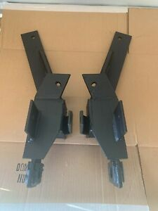 Chevy Gmc 1500 2500 3500 Fisher Snow Plow Mount Push Plates