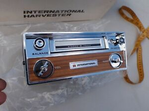 International Harvester Scout Ih Nos 8 Track Player 1968 1969 1970 1971 1972