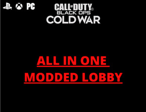 COD Cold War Dark Aether camo lobby $45.00