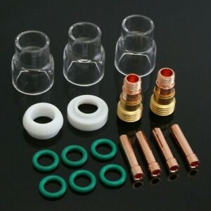582631 Tig Welding Torch Consumables Assorted Soldering Stubby Portable
