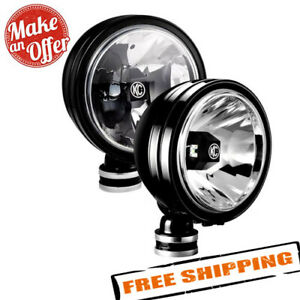 Kc Hilites 653 Daylighter 6 2x20w Round Spread Beam Led Lights With Gravity Led