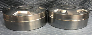 Ford Oem Dog Dish Hub Caps F250 Pickup Truck Van Set Poverty Used Pair