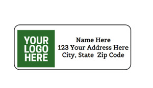 30 Custom Logo Picture Image Personalized Return Address Labels 1 In X 2 625 In