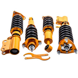 Coilovers Shock Absorbers For Mitsubishi Lancer Gts 4 door 2008 2016 Adj Height