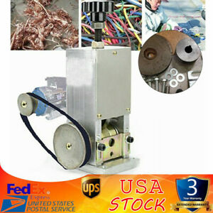 Powered handcrank Electric Wire Stripping Machine Cable Stripper Metal Tool
