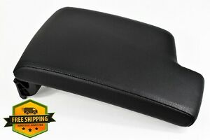 2006 2011 Bmw E92 E90 Center Console Black Leather Armrest Lid Cover Oem