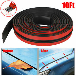 10ft Auto Car Rubber Front Rear Windshield Panel Seal Strip Sealed Moulding Trim