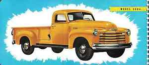 Chevrolet Chevy Pickup Truck 1 2 3 4 Ton Long Bed Running Board Set 1947 1954