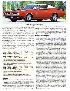 1970 Dodge Charger R t 426 Hemi Article Must See
