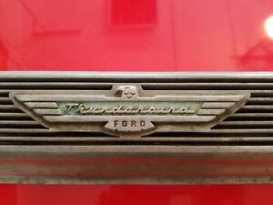 55 56 57 Ford T Bird Thunderbird Finned Aluminum Valve Cover 292 312 Y Block