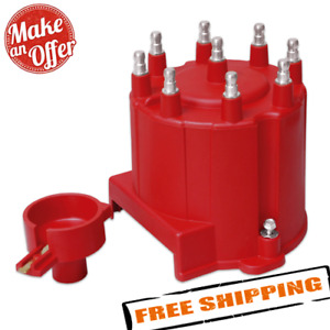 Msd 8406 Distributor Cap And Rotor Gm External Coil