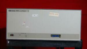 Hp Agilent 83621a 10 Mhz To 20 Ghz Synthesized Sweeper 3420a00578 Parts Unit