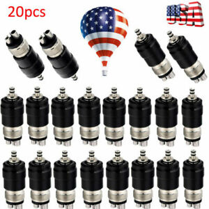 10pcs Dental Quick Coupler Adaptor Coupling Connector For High Speed Handpiece