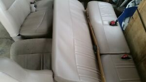1997 1998 Ford F150 Lariat tan Leather Seats Front And Back