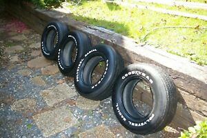 Goodyear Polysteel Radial Tires 4 P225 70 R15 Used Recommend Judging Only