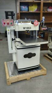Shop Fox 15 Helical Head Planer 3hp 230v Display Special