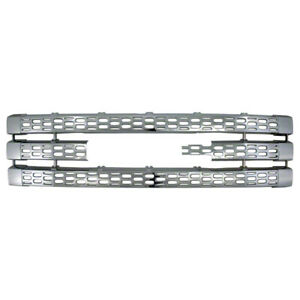 For Gmc Sierra 2500 3500 Chrome Snap On Overlay Grill Trim Insert Front Cover