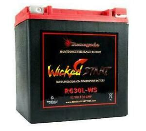 Replacement Battery For Harley Road King 97 18 Rg30l ws 600 Cca s