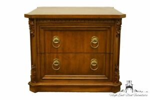 Weiman Furniture Italian Neoclassical 26 Bookmatched Storage End Table M 876