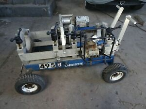 Christie Pipe Fusion Machine 4 8 Size Poly Pipe Welder Mcelroy Rolling 28