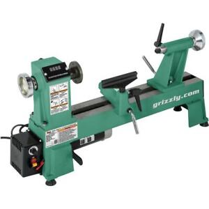 Grizzly T25920 12 X 18 Variable speed Benchtop Wood Lathe