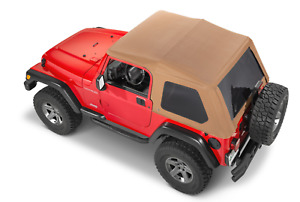 Adventure Top Fastback Conversion Soft Top Spice For1997 2006 Jeep Wrangler Tj